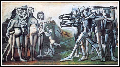 Picasso - Massacre in Korea