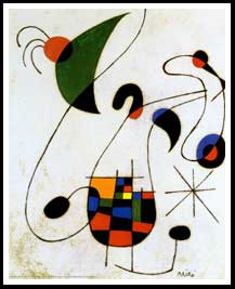 Joan Miro - the melancholic singer